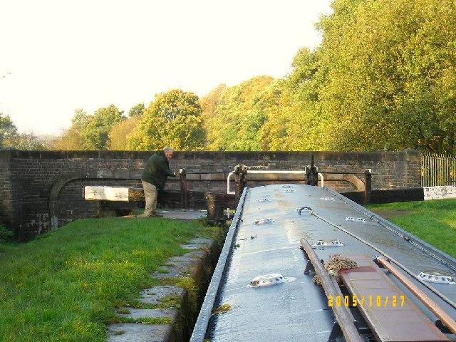 Lock at Stockton Brook, Caldon Canal