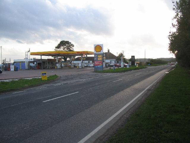 Kirkburn Filling Station