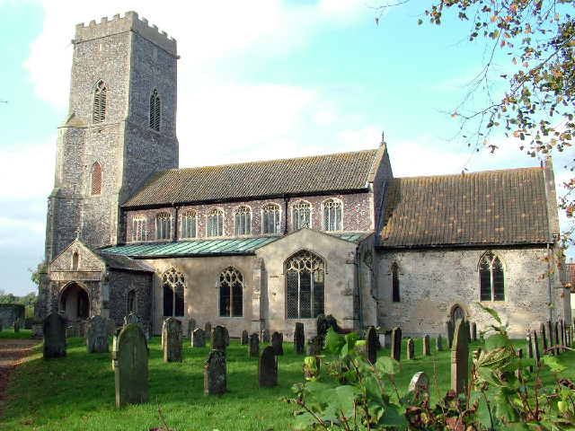 ST Mary's Parish Church.  Gt.Witchingham