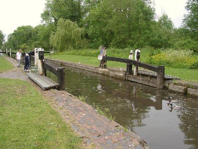 Widmead Lock, Kennet & Avon Canal