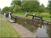 SU5066 : Widmead Lock, Kennet & Avon Canal by John Lloyd