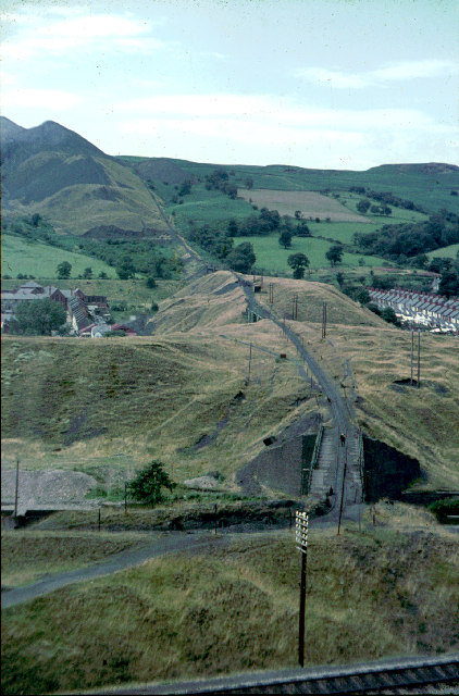 Aberfan Colliery spoil tramway