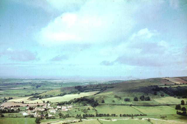 Loxton from Crook Peak