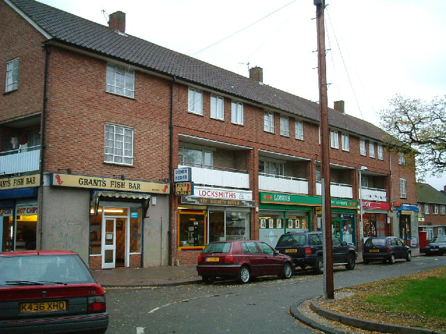 Shops, Harlington Road