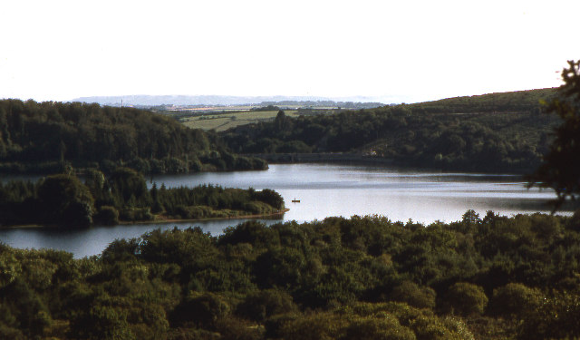 Burrator Reservoir from the north