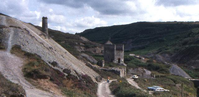 Blue Hills mine workings