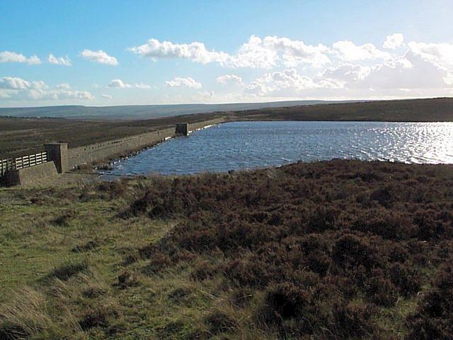 Keighley Moor reservoir