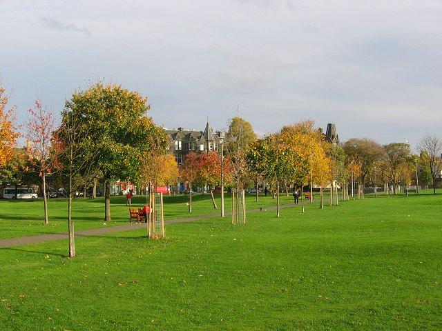 Autumn colours, Bruntsfield Links.