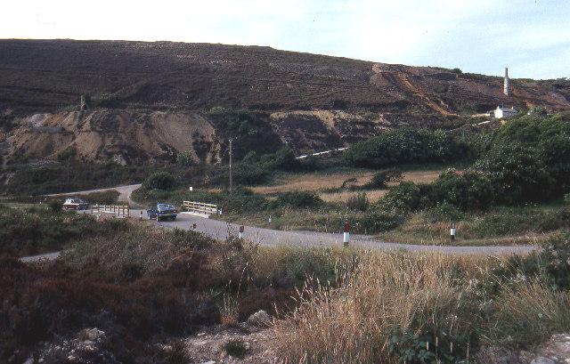 Tywarnhayle mine, near Porthtowan