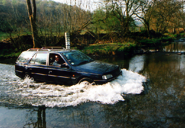 Ford at Birks bridge, River Winster
