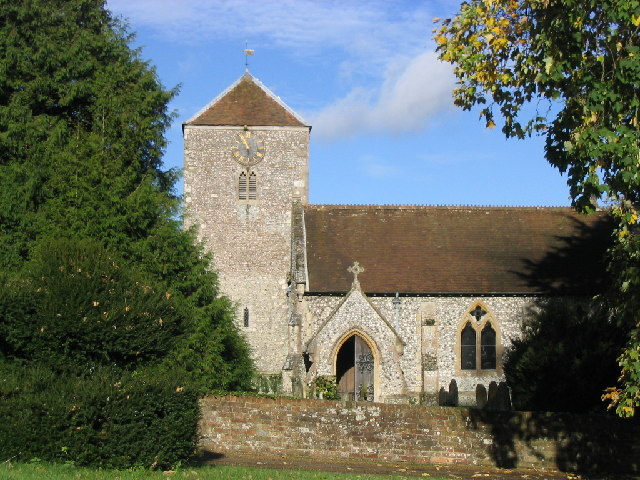 Church at Wootton St. Lawrence