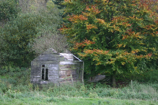 Abandoned Camping Hut near Wass, North Yorkshire