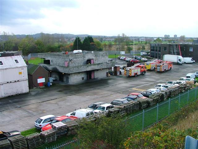 Grangetown Fire Brigade Training Centre