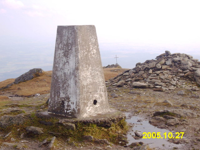 Ben Ledi, trig and cross
