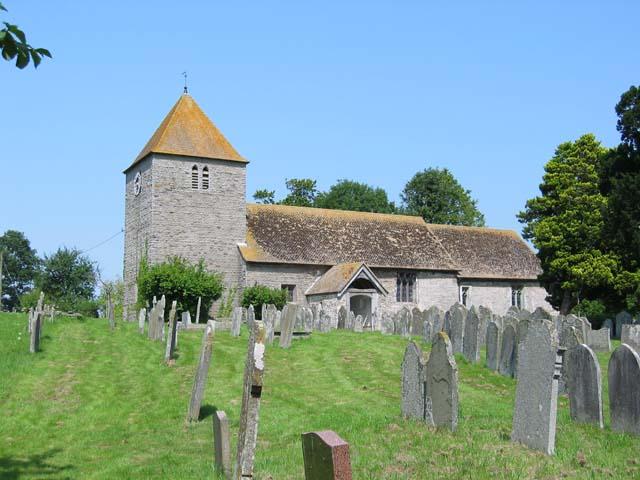 Church at Michaelchurch Escley