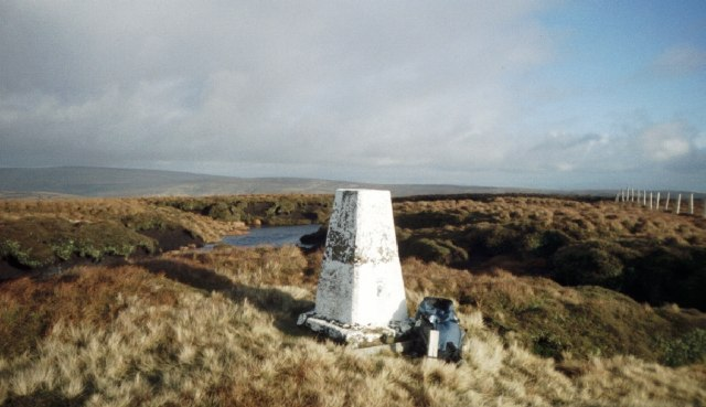 Trig Pillar Whins Brow
