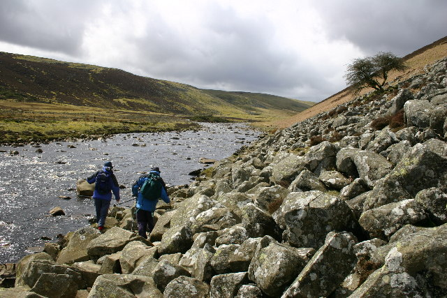 The Pennine Way beside the Infant River Tees