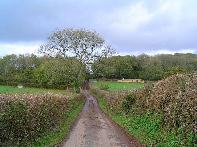 Approaching Ipplepen - South Devon