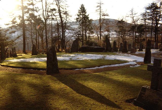 Midmar stone circle.
