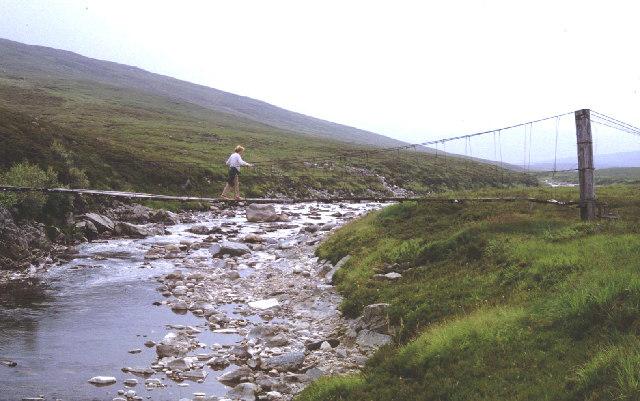 The Geldie Bridge