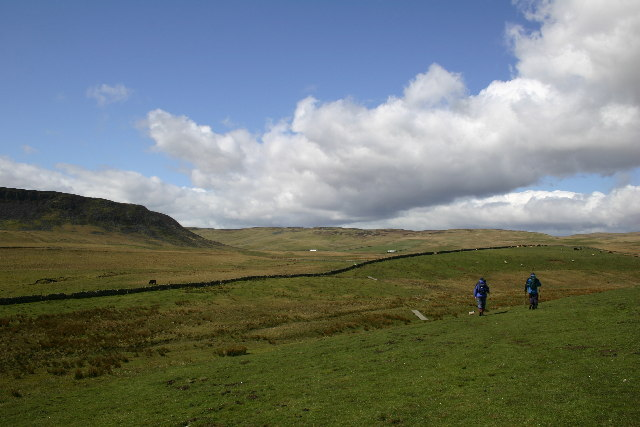 Cronkley Scar and the Pennine Way
