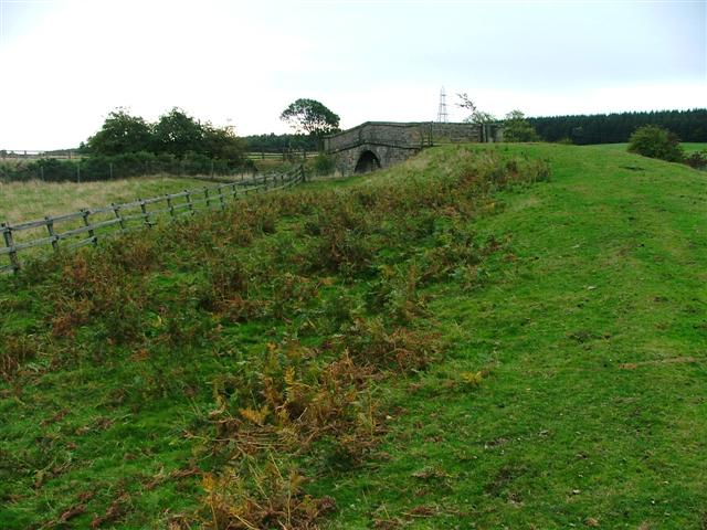 Bridge Over the Former Bishop Auckland to Barnard Castle Railway