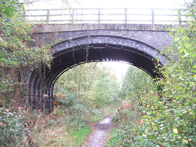 Bridge over dismantled railway.