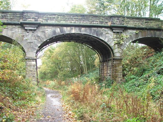 Bridge over dismantled railway.
