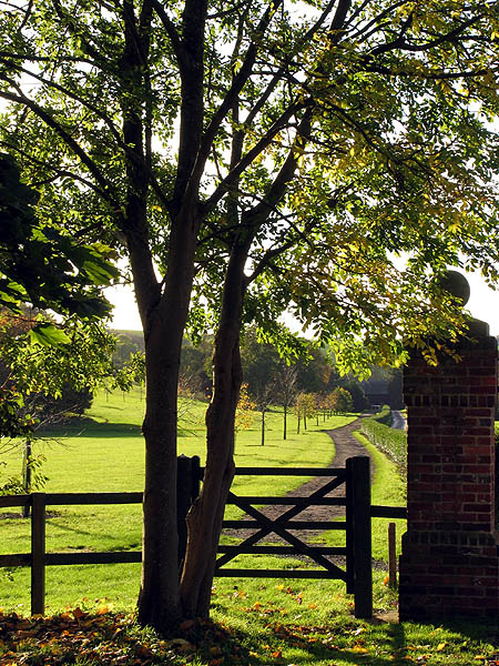 Footpath at Watscombe Estate Entrance