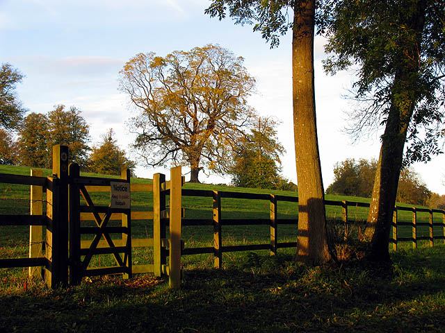 Stile on the Lambourn Valley Way at Welford