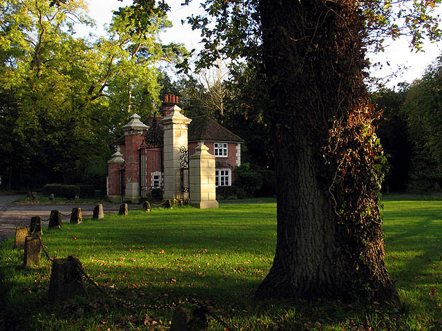 Gates to Welford Park