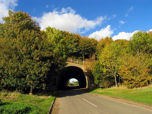 Tunnel under the M4 near Boxford