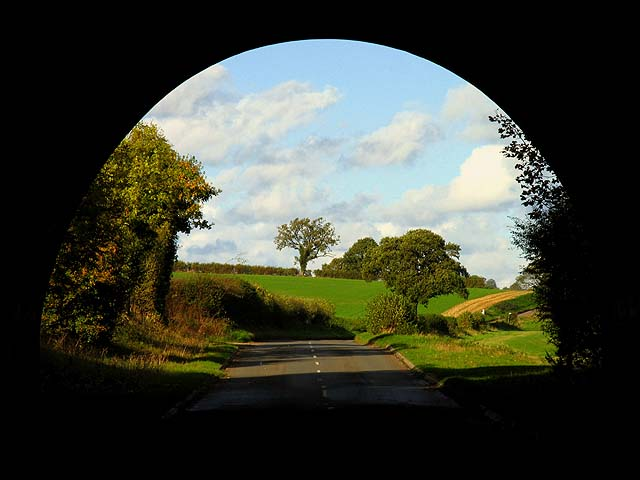 Tunnel Vision near Wyfield Manor