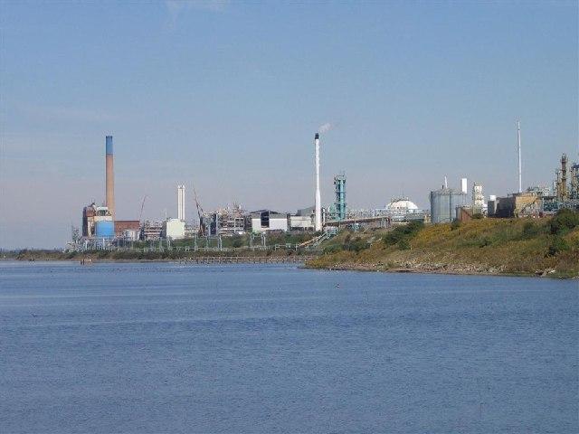 Chemical Works from Frodsham Marsh