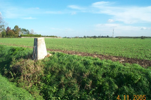 OS Triangulation Pillar at Stapleford Tawney