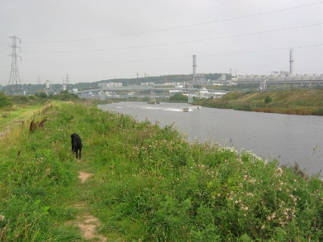 River Weaver near Runcorn