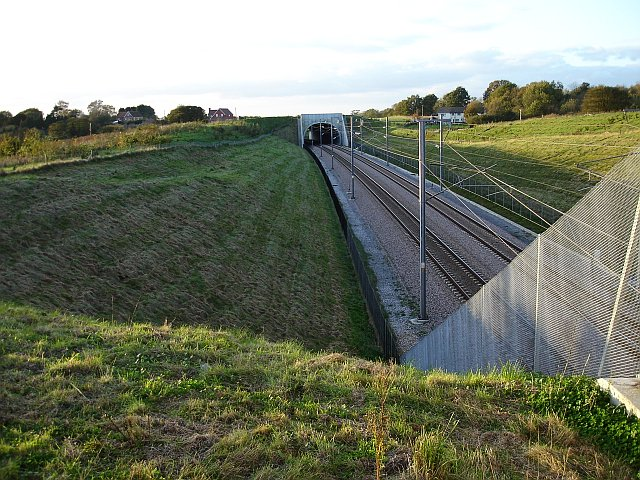 Channel Tunnel Rail Link from bridge 831