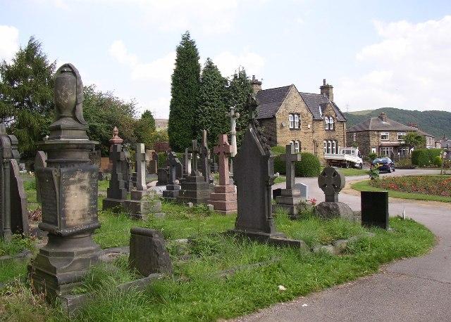 Cemetery, Exley Lane, Elland