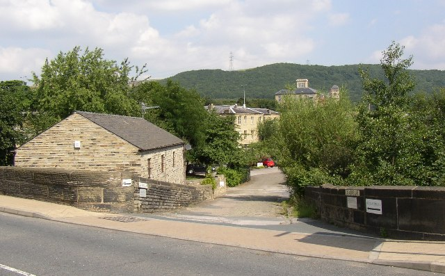 Gas Works Lane, Elland