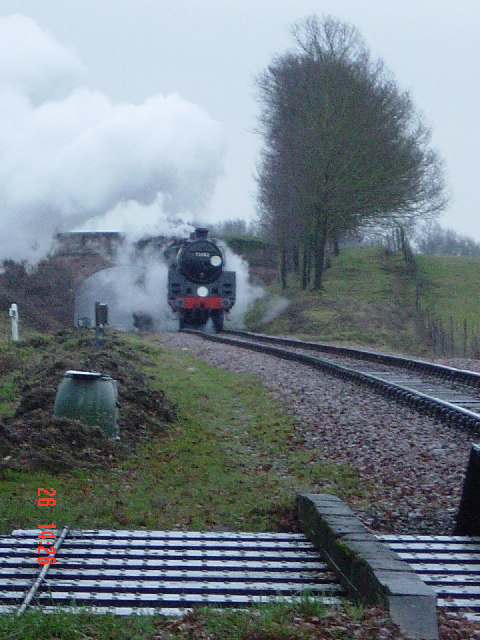 The Bluebell Railway at Freshfield