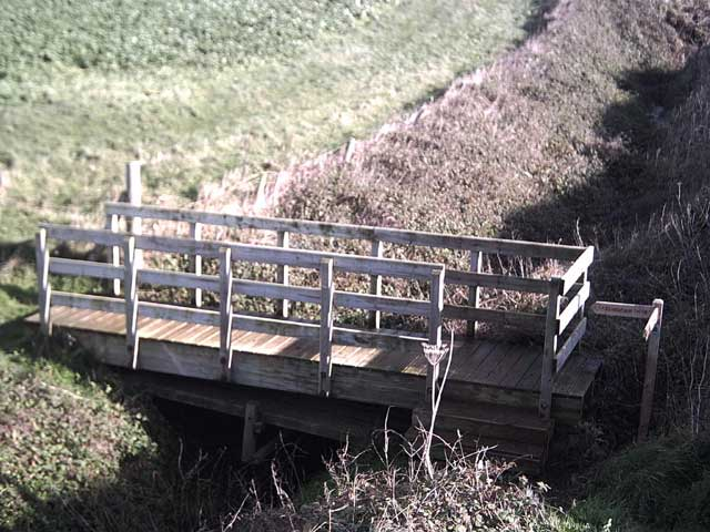 Footbridge at Green Cliff