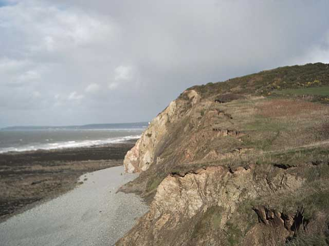 South West Coast Path: Green Cliff