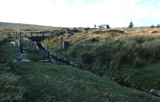 Devonport Leat, Nun's Cross farm