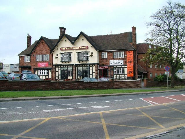 The White Horse Hotel, Harrowgate Hill