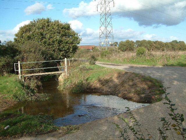 Ford near Somerford, Dorset