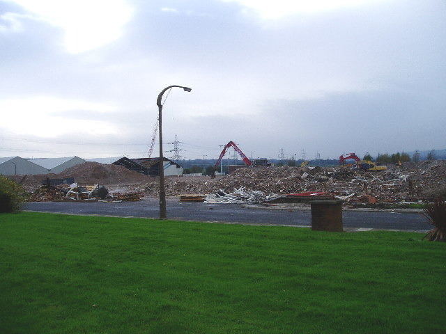 Demolition in Simonstone