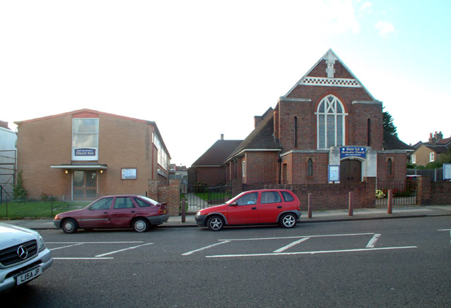 Burnt Ash Methodist church and hall, SE12