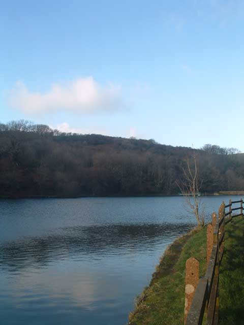 Lower Reservoir at Slade
