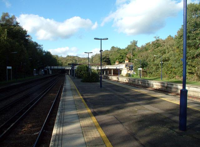 Elmstead Woods railway station BR7