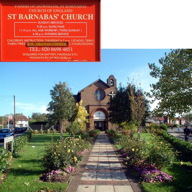 St Barnabas, Downham Way BR1